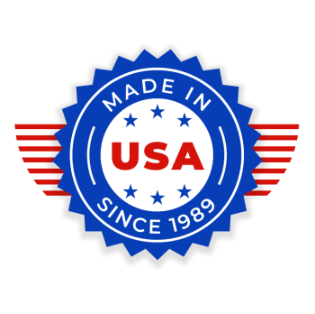Made in the USA since 1989